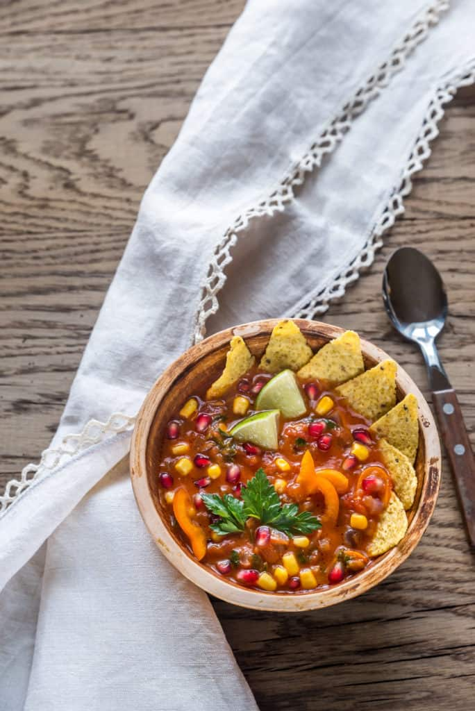 Impress Your Kids with This Slow Cooker Tortilla Soup